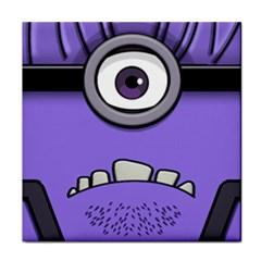 Evil Purple Face Towel