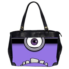 Evil Purple Office Handbags (2 Sides)