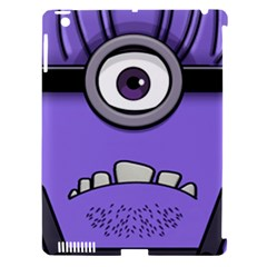 Evil Purple Apple Ipad 3/4 Hardshell Case (compatible With Smart Cover)