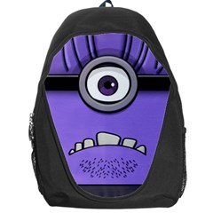 Evil Purple Backpack Bag