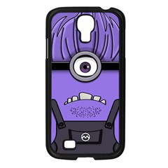 Evil Purple Samsung Galaxy S4 I9500/ I9505 Case (black)