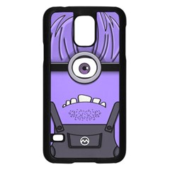 Evil Purple Samsung Galaxy S5 Case (black)
