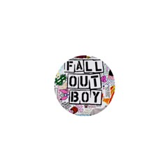 Fall Out Boy Lyric Art 1  Mini Magnets by Samandel