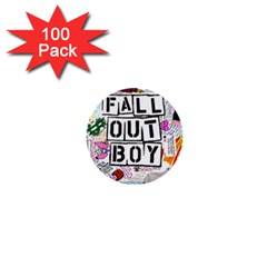 Fall Out Boy Lyric Art 1  Mini Buttons (100 Pack)