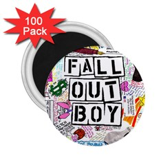 Fall Out Boy Lyric Art 2 25  Magnets (100 Pack)  by Samandel