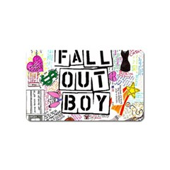 Fall Out Boy Lyric Art Magnet (name Card) by Samandel