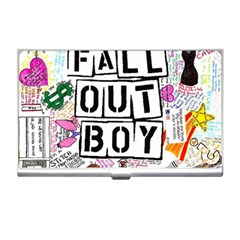Fall Out Boy Lyric Art Business Card Holders by Samandel