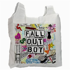 Fall Out Boy Lyric Art Recycle Bag (two Side)
