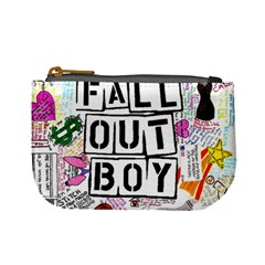 Fall Out Boy Lyric Art Mini Coin Purses