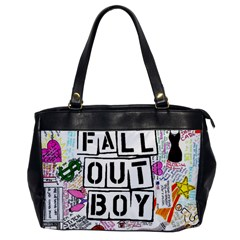 Fall Out Boy Lyric Art Office Handbags