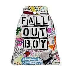 Fall Out Boy Lyric Art Bell Ornament (two Sides)