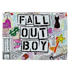 Fall Out Boy Lyric Art Cosmetic Bag (xxl)