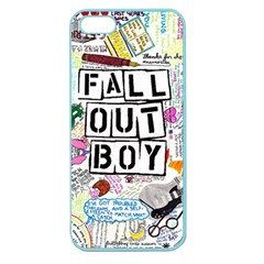 Fall Out Boy Lyric Art Apple Seamless Iphone 5 Case (color)