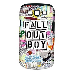 Fall Out Boy Lyric Art Samsung Galaxy S Iii Classic Hardshell Case (pc+silicone)