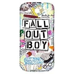 Fall Out Boy Lyric Art Samsung Galaxy S3 S Iii Classic Hardshell Back Case by Samandel