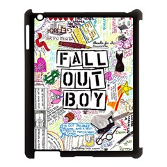 Fall Out Boy Lyric Art Apple Ipad 3/4 Case (black)