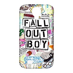 Fall Out Boy Lyric Art Samsung Galaxy S4 Classic Hardshell Case (pc+silicone)