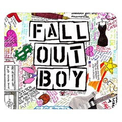Fall Out Boy Lyric Art Double Sided Flano Blanket (small)  by Samandel