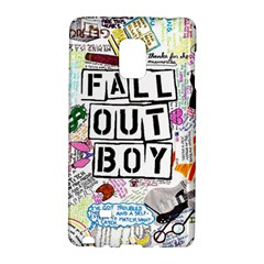 Fall Out Boy Lyric Art Galaxy Note Edge by Samandel