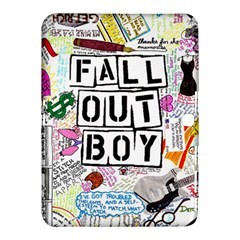 Fall Out Boy Lyric Art Samsung Galaxy Tab 4 (10 1 ) Hardshell Case  by Samandel