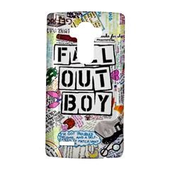 Fall Out Boy Lyric Art Lg G4 Hardshell Case by Samandel
