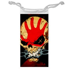 Five Finger Death Punch Heavy Metal Hard Rock Bands Skull Skulls Dark Jewelry Bag by Samandel