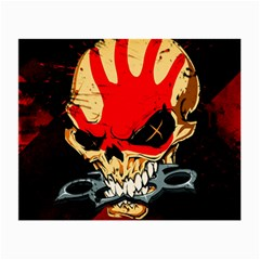 Five Finger Death Punch Heavy Metal Hard Rock Bands Skull Skulls Dark Small Glasses Cloth (2 Side) by Samandel