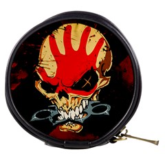 Five Finger Death Punch Heavy Metal Hard Rock Bands Skull Skulls Dark Mini Makeup Bags