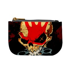Five Finger Death Punch Heavy Metal Hard Rock Bands Skull Skulls Dark Mini Coin Purses