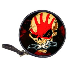 Five Finger Death Punch Heavy Metal Hard Rock Bands Skull Skulls Dark Classic 20 Cd Wallets