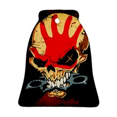 Five Finger Death Punch Heavy Metal Hard Rock Bands Skull Skulls Dark Ornament (bell)