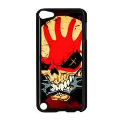 Five Finger Death Punch Heavy Metal Hard Rock Bands Skull Skulls Dark Apple Ipod Touch 5 Case (black)