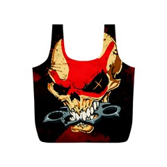 Five Finger Death Punch Heavy Metal Hard Rock Bands Skull Skulls Dark Full Print Recycle Bags (s)