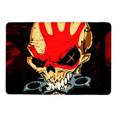 Five Finger Death Punch Heavy Metal Hard Rock Bands Skull Skulls Dark Samsung Galaxy Tab Pro 10 1  Flip Case by Samandel