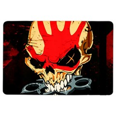 Five Finger Death Punch Heavy Metal Hard Rock Bands Skull Skulls Dark Ipad Air 2 Flip by Samandel