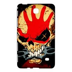 Five Finger Death Punch Heavy Metal Hard Rock Bands Skull Skulls Dark Samsung Galaxy Tab 4 (7 ) Hardshell Case  by Samandel