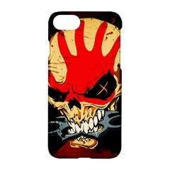 Five Finger Death Punch Heavy Metal Hard Rock Bands Skull Skulls Dark Apple Iphone 8 Hardshell Case