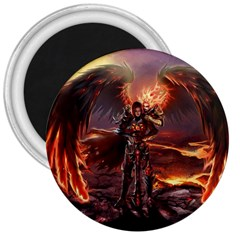 Fantasy Art Fire Heroes Heroes Of Might And Magic Heroes Of Might And Magic Vi Knights Magic Repost 3  Magnets