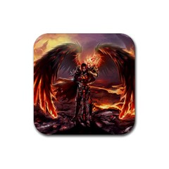 Fantasy Art Fire Heroes Heroes Of Might And Magic Heroes Of Might And Magic Vi Knights Magic Repost Rubber Square Coaster (4 Pack)