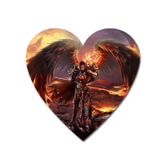 Fantasy Art Fire Heroes Heroes Of Might And Magic Heroes Of Might And Magic Vi Knights Magic Repost Heart Magnet