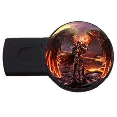 Fantasy Art Fire Heroes Heroes Of Might And Magic Heroes Of Might And Magic Vi Knights Magic Repost Usb Flash Drive Round (2 Gb)