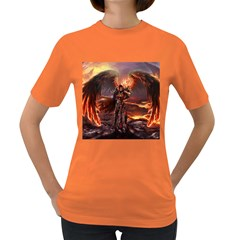 Fantasy Art Fire Heroes Heroes Of Might And Magic Heroes Of Might And Magic Vi Knights Magic Repost Women s Dark T Shirt