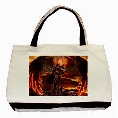 Fantasy Art Fire Heroes Heroes Of Might And Magic Heroes Of Might And Magic Vi Knights Magic Repost Basic Tote Bag (two Sides)