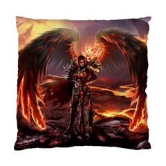 Fantasy Art Fire Heroes Heroes Of Might And Magic Heroes Of Might And Magic Vi Knights Magic Repost Standard Cushion Case (two Sides)