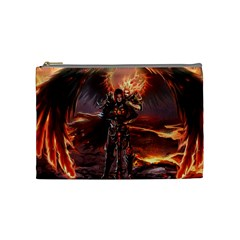 Fantasy Art Fire Heroes Heroes Of Might And Magic Heroes Of Might And Magic Vi Knights Magic Repost Cosmetic Bag (medium)