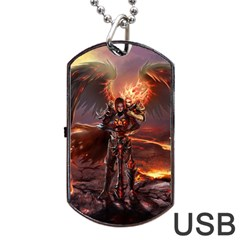Fantasy Art Fire Heroes Heroes Of Might And Magic Heroes Of Might And Magic Vi Knights Magic Repost Dog Tag Usb Flash (one Side)