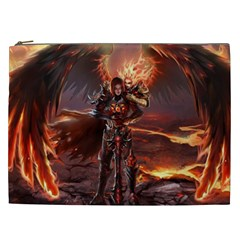 Fantasy Art Fire Heroes Heroes Of Might And Magic Heroes Of Might And Magic Vi Knights Magic Repost Cosmetic Bag (xxl)