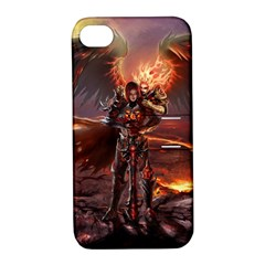 Fantasy Art Fire Heroes Heroes Of Might And Magic Heroes Of Might And Magic Vi Knights Magic Repost Apple Iphone 4/4s Hardshell Case With Stand