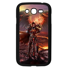 Fantasy Art Fire Heroes Heroes Of Might And Magic Heroes Of Might And Magic Vi Knights Magic Repost Samsung Galaxy Grand Duos I9082 Case (black)