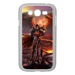 Fantasy Art Fire Heroes Heroes Of Might And Magic Heroes Of Might And Magic Vi Knights Magic Repost Samsung Galaxy Grand Duos I9082 Case (white)